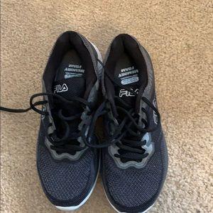Memory foam fila shoes